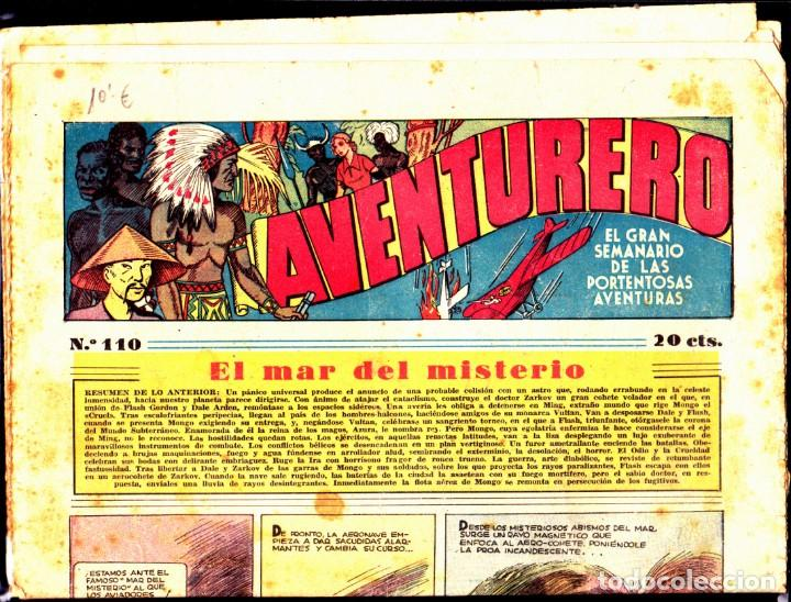 COMIC COLECCION AVENTURERO Nº 110 (Tebeos y Comics - Hispano Americana - Aventurero)