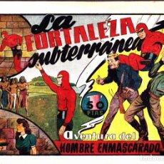 Tebeos: COMIC COLECCION EL HOMBRE ENMASCARADO LA FORTALEZA SUBTERRANEA. Lote 275104963