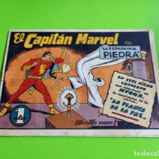 Tebeos: EL CAPITAN MARVEL- LA ESPADA EN LA PIEDRA - Nº 4 HISPANO AMERICANA ORIGINAL. Lote 275115873