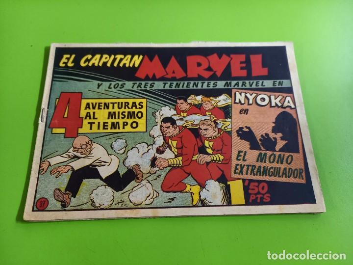 EL CAPITAN MARVEL- Nº 37 ORIGINAL (Tebeos y Comics - Hispano Americana - Capitán Marvel)