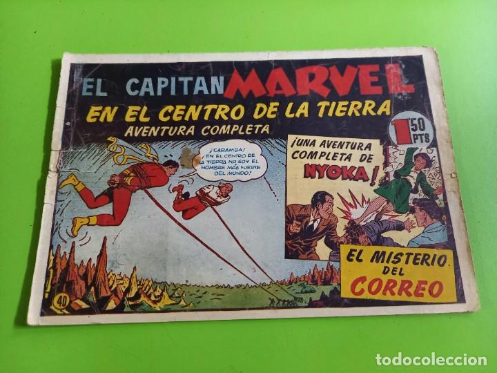 EL CAPITAN MARVEL- Nº 40 ORIGINAL (Tebeos y Comics - Hispano Americana - Capitán Marvel)