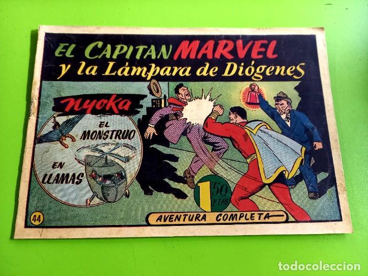 EL CAPITAN MARVEL- Nº 44 ORIGINAL (Tebeos y Comics - Hispano Americana - Capitán Marvel)