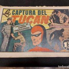 Giornalini: HOMBRE ENMASCARADO / 48 / LA CAPTURA DEL TUCÁN / ORIGINAL / BUEN ESTADO GENERAL. Lote 276112933