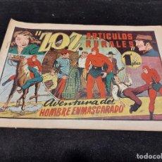 Giornalini: HOMBRE ENMASCARADO / 38 / ZOZ ARTÍCULOS RURALES / ORIGINAL / MUY BUEN ESTADO.. Lote 276119203