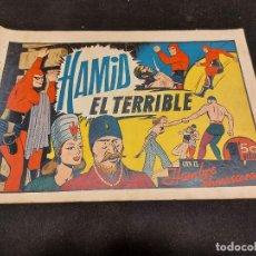 Giornalini: HOMBRE ENMASCARADO / 30 / HAMID EL TERRIBLE / ORIGINAL / ESTADO NORMAL.. Lote 276125093