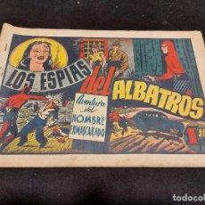 Giornalini: HOMBRE ENMASCARADO / 32 / LOS ESPÍAS DEL ALBATROS / ORIGINAL / ESTADO NORMAL.. Lote 276125718
