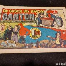 Giornalini: HOMBRE ENMASCARADO / 34 / EN BUSCA DEL BARÓN DANTON / ORIGINAL / BUEN ESTADO. Lote 276126518