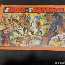 Giornalini: JORGE Y FERNANDO / ÁLBUM ROJO Nº 7 / CON USO NORMAL DE LA ÉPOCA / LEVES FALLOS / VER FOTOS.. Lote 276204588