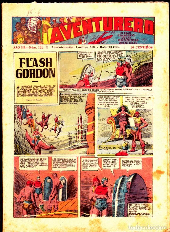 COMIC COLECCION AVENTURERO Nº 121 (Tebeos y Comics - Hispano Americana - Aventurero)