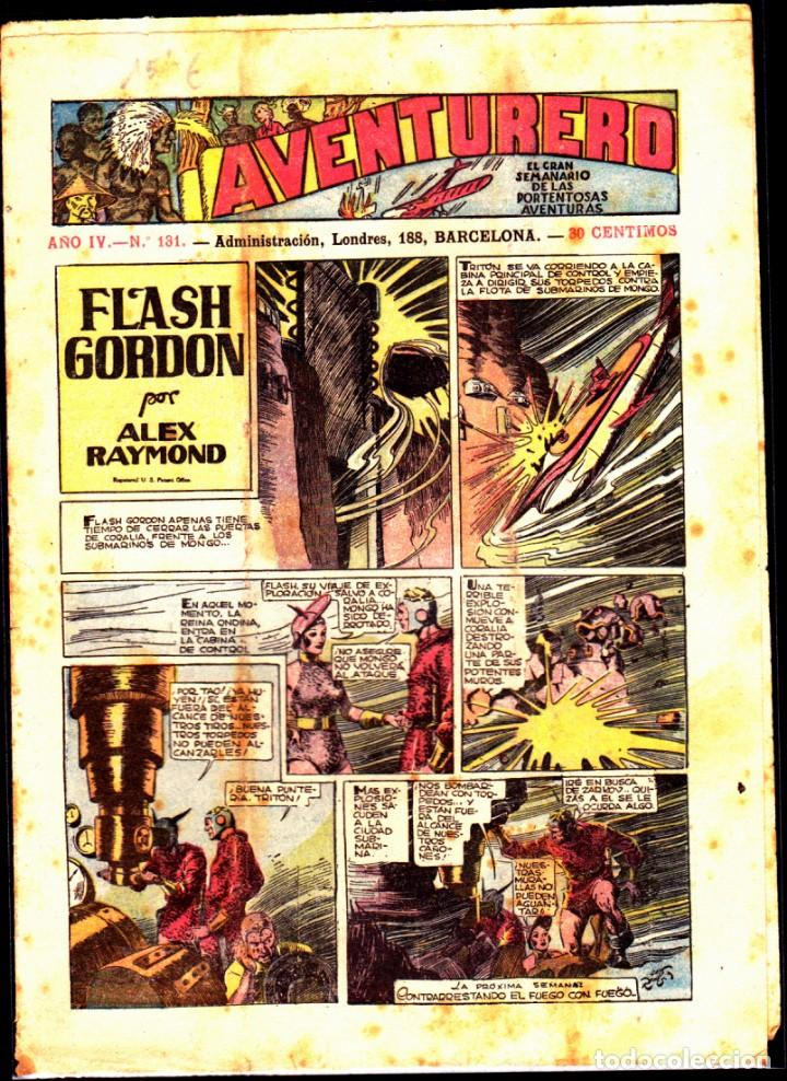COMIC COLECCION AVENTURERO Nº 131 (Tebeos y Comics - Hispano Americana - Aventurero)