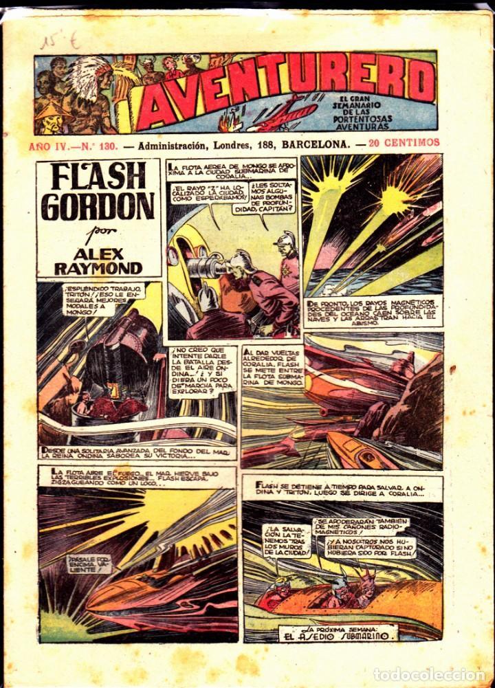 COMIC COLECCION AVENTURERO Nº 130 (Tebeos y Comics - Hispano Americana - Aventurero)