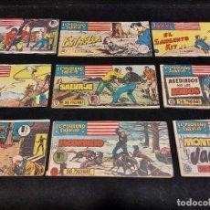 Livros de Banda Desenhada: EL PEQUEÑO SHERIFF / 1,25 PTAS / LOTE DE 9 EJEMPLARES / CON USO NORMAL DE LA ÉPOCA / VER FOTOS.. Lote 277150938