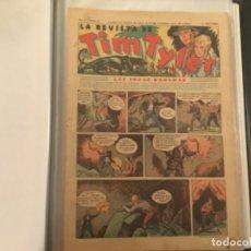 Tebeos: COMIC LA REVISTA TIM TYLER HISPANO AMERICANA ORIGINAL COMPLETA 113 FASCICULOS AÑOS 30. Lote 277615628