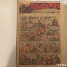 Tebeos: COMIC LEYENDAS INFANTILES HISPANO AMERICANA ORIGINAL COMPLETA 99 FASCICULOS DEL 84 AL 182 ULTIMO. Lote 277623773
