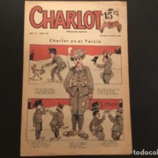 Tebeos: SEMANARIO FESTIVO CHARLOT EN EL TERCIO AÑO 1922. Lote 277648108