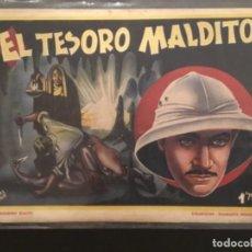 Tebeos: COMIC EL TESORO MALDITO COLECCION DIAMANTE NEGRO EDICIONES RIALTO ORIGINAL. Lote 277649278