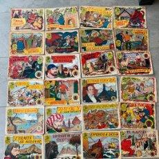 Tebeos: HISTORIA I LLEGENDA 27 COMICS EDITORIAL HISPANO AMERICANA AÑOS 50. Lote 278497453