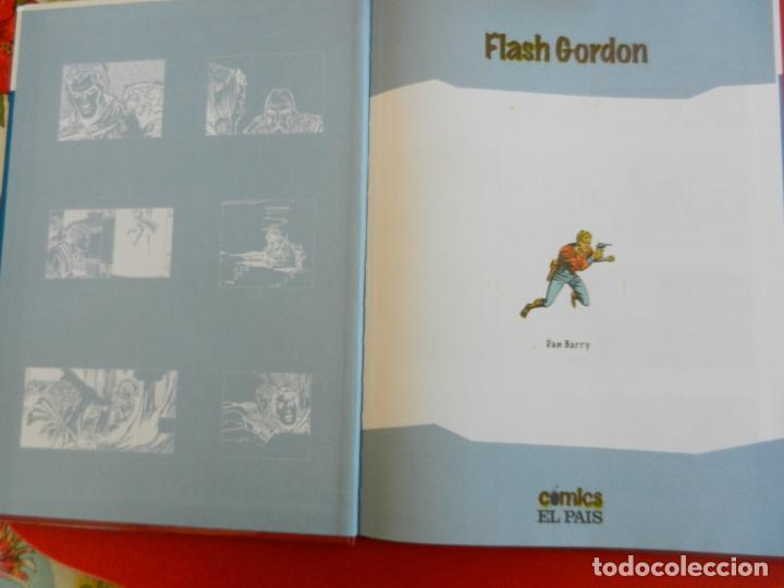 Tebeos: FLASH GORGON , LA CIUDAD DE HIELO - COMICS EL PAIS 2005 TAPAS DURAS - Foto 3 - 281924693