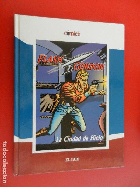 FLASH GORGON , LA CIUDAD DE HIELO - COMICS EL PAIS 2005 TAPAS DURAS (Tebeos y Comics - Hispano Americana - Flash Gordon)