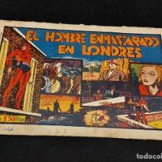 Livros de Banda Desenhada: EL HOMBRE ENMASCARADO / 11 / EN LONDRES / ORIGINAL / PEQUEÑOS FALLOS / VER FOTOS.. Lote 281978563