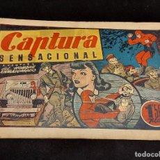 Livros de Banda Desenhada: EL HOMBRE ENMASCARADO / 56 / CAPTURA SENSACIONAL / ORIGINAL / PEQUEÑOS FALLOS / VER FOTOS.. Lote 281980858