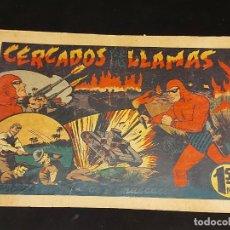 Livros de Banda Desenhada: EL HOMBRE ENMASCARADO / 55 / CAPTURA SENSACIONAL / ORIGINAL / PEQUEÑOS FALLOS / VER FOTOS.. Lote 281981163