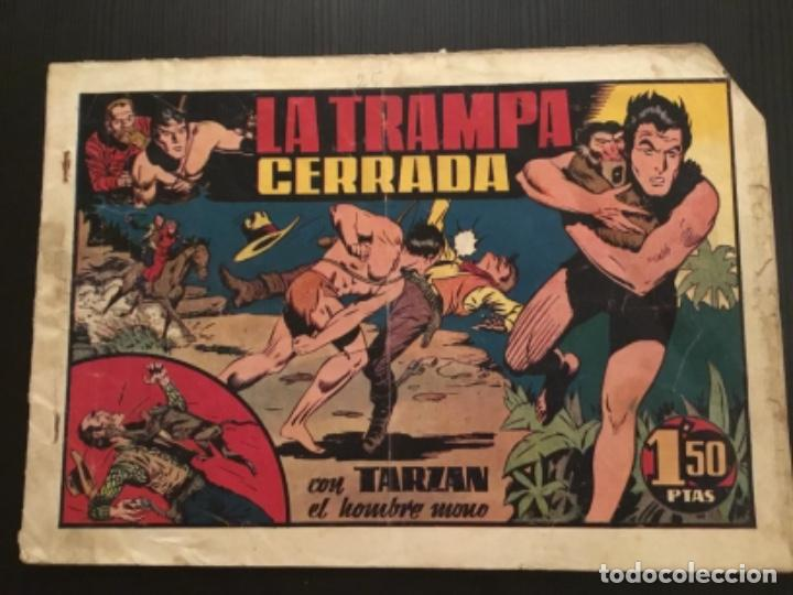 COMIC HISPANO AMERICANA ORIGINAL TARZAN LA TRAMPA CERRADA (Tebeos y Comics - Hispano Americana - Tarzán)