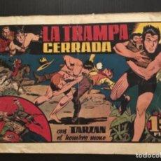 Tebeos: COMIC HISPANO AMERICANA ORIGINAL TARZAN LA TRAMPA CERRADA. Lote 284362093