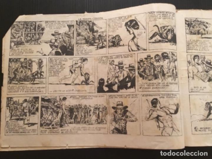 Tebeos: Comic Hispano Americana Original Tarzan La trampa cerrada - Foto 2 - 284362093