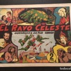Tebeos: HISPANO AMERICANA ORIGINAL FLASH GORDON FLAS EL RAYO CELESTE. Lote 284365848
