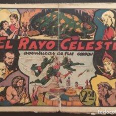 Tebeos: HISPANO AMERICANA ORIGINAL FLASH GORDON FLAS EL RAYO CELESTE NÚMERO 1 PRIMERA EDICION. Lote 284367608