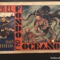 Tebeos: COMIC EDITORIAL HISPANO AMERICANA ORIGINAL JUAN CENTELLA EN EL FONDO DEL OCEANO. Lote 284474793