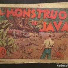 Tebeos: COMIC EDITORIAL HISPANO AMERICANA ORIGINAL JUAN CENTELLA EL MONSTRUO DE JAVA. Lote 284475918