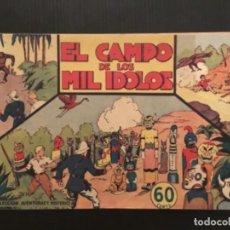 Tebeos: COMIC EDITORIAL HISPANO AMERICANA ORIGINAL EL CAMPO DE LOS MIL ÍDOLOS JORGE Y FERNANDO. Lote 285304338