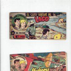Tebeos: ARCHIVO * JORGE Y FERNANDO EDICION BOLSILLO Nº 64, 73, * EDITORIAL HISPANO AMERICANA 1949 *. Lote 286741578
