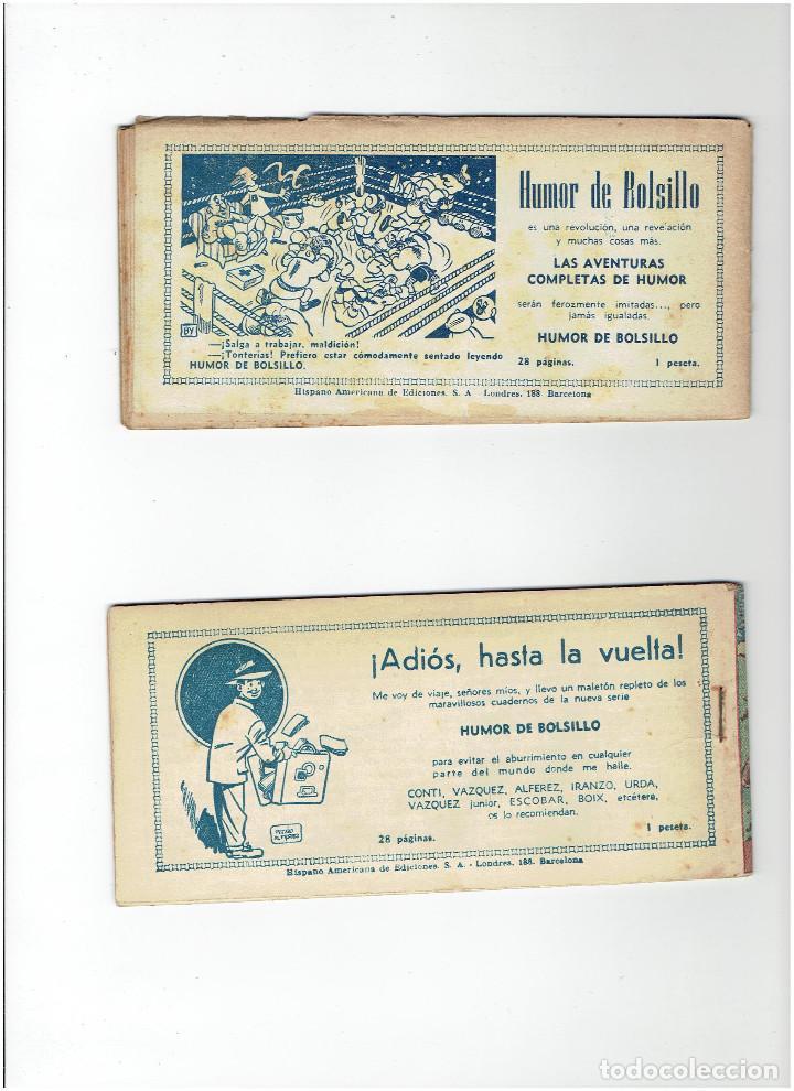 Tebeos: Archivo * JORGE Y FERNANDO EDICION BOLSILLO Nº 64, 73, * EDITORIAL HISPANO AMERICANA 1949 * - Foto 4 - 286741578
