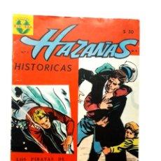 Tebeos: HAZAÑAS HISTÓRICAS N° 1 - ORIGINAL EDITORIAL ZIG ZAG - CHILE. Lote 286944383