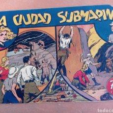 Tebeos: MARIA CORTES Y LA DOCTORA ALDEN 1942 , N.5 LA CIUDAD SUBMARINA ,HISPANO AMERICANA. Lote 286971283