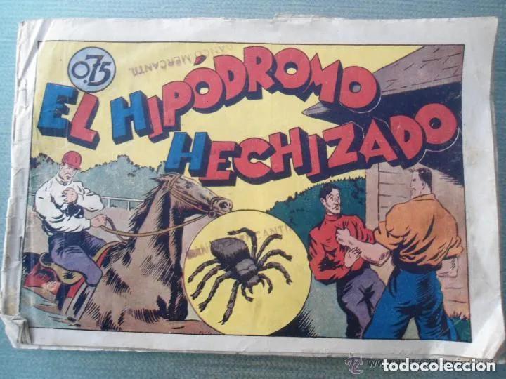 ANTIGUO COMIC TEBEO EL HIPODROMO HECHIZADO - JUAN CENTELLA (Tebeos y Comics - Hispano Americana - Juan Centella)