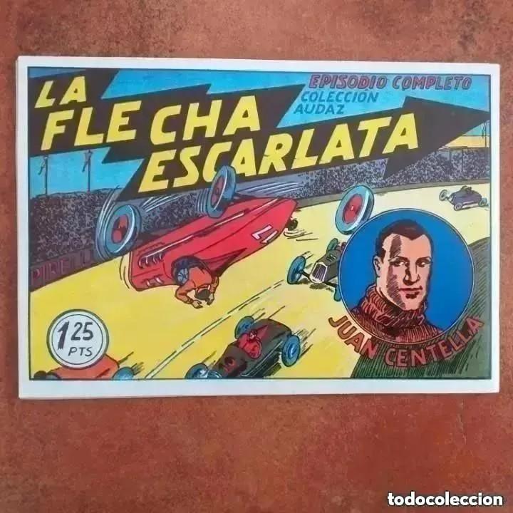 Tebeos: JUAN CENTELLA - EN EL FONDO DEL OCÉANO + LA FLECHA ESCARLATA. NUM 3 REEDICION - Foto 2 - 287733913