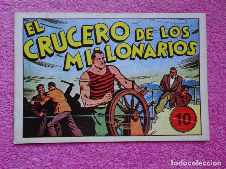JUAN CENTELLA 10 EL CRUCERO DE LOS MILLONARIOS EDICIONES IBERCOMIC-MAM 1989 EL MONSTRUO DE JAVA (Tebeos y Comics - Hispano Americana - Juan Centella)