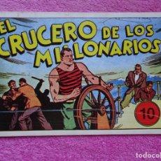 Tebeos: JUAN CENTELLA 10 EL CRUCERO DE LOS MILLONARIOS EDICIONES IBERCOMIC-MAM 1989 EL MONSTRUO DE JAVA. Lote 287748963