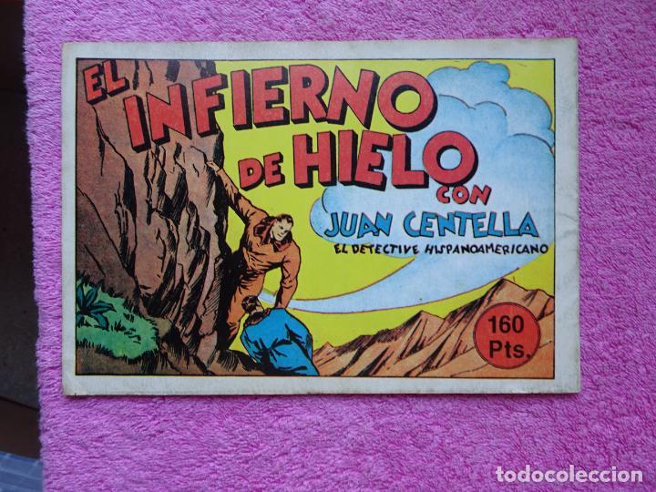 Tebeos: juan centella 11 los buscadores de marfil ediciones IBERCOMIC-MAM 1989 el infierno de hielo - Foto 5 - 287750293