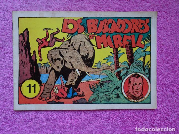 JUAN CENTELLA 11 LOS BUSCADORES DE MARFIL EDICIONES IBERCOMIC-MAM 1989 EL INFIERNO DE HIELO (Tebeos y Comics - Hispano Americana - Juan Centella)