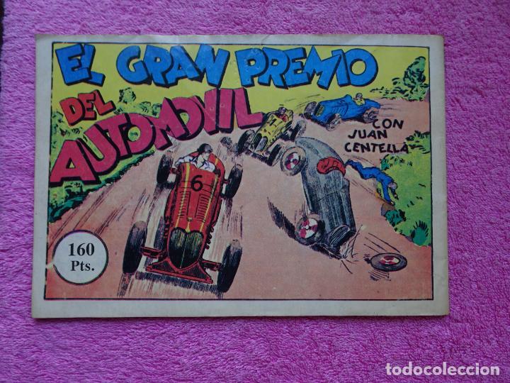 Tebeos: juan centella 22 el misterio de colón ediciones IBERCOMIC-MAM 1989 el gran premio del automóvil - Foto 5 - 287751088