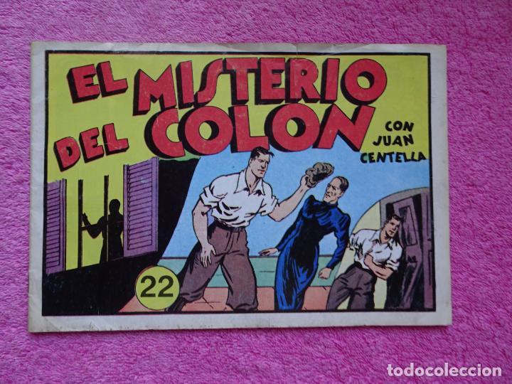 JUAN CENTELLA 22 EL MISTERIO DE COLÓN EDICIONES IBERCOMIC-MAM 1989 EL GRAN PREMIO DEL AUTOMÓVIL (Tebeos y Comics - Hispano Americana - Juan Centella)