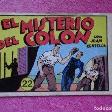 Tebeos: JUAN CENTELLA 22 EL MISTERIO DE COLÓN EDICIONES IBERCOMIC-MAM 1989 EL GRAN PREMIO DEL AUTOMÓVIL. Lote 287751088