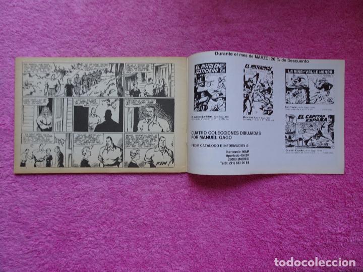 Tebeos: juan centella 9 el centauro amarillo ediciones IBERCOMIC-MAM 1989 el bosque en llamas - Foto 5 - 287751873