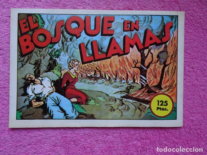 Tebeos: juan centella 9 el centauro amarillo ediciones IBERCOMIC-MAM 1989 el bosque en llamas - Foto 6 - 287751873