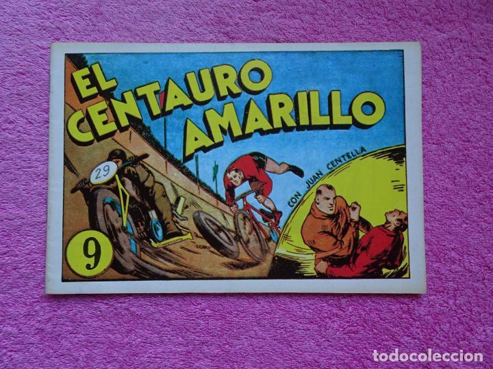 JUAN CENTELLA 9 EL CENTAURO AMARILLO EDICIONES IBERCOMIC-MAM 1989 EL BOSQUE EN LLAMAS (Tebeos y Comics - Hispano Americana - Juan Centella)